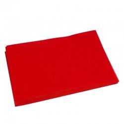 Feutrines 10 Formats A5 Feutrine Rouge