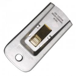 Accessoires Grattoir métal rétractable