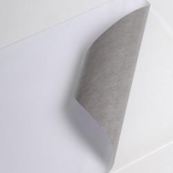 Bobine Jet encre PU 50µm blanc BT adh gris perm