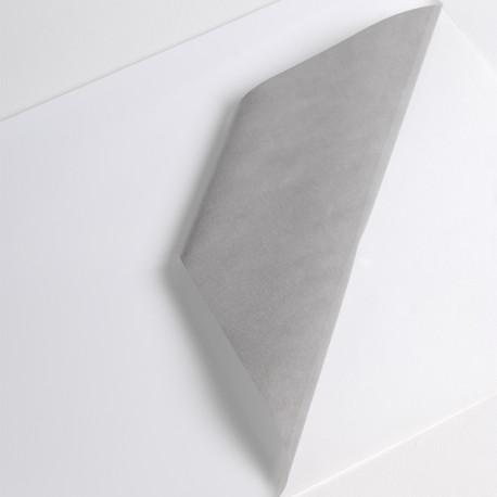 Bobine Jet encre VC 50µm Blanc BT adh gris perm