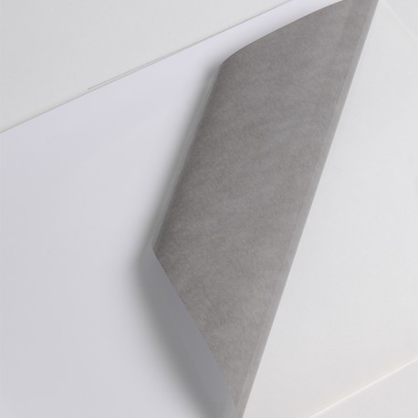 Bobine Jet encre VP 70µm Blanc BT adh gris perm
