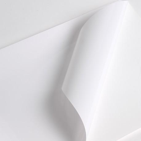 Bobine Jet encre VM100µm Blanc BT adh inc  perm